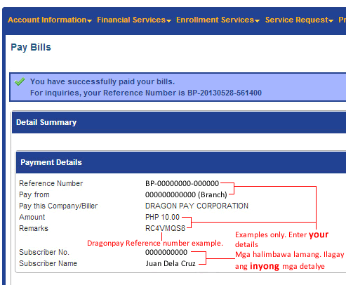 BDO RIB Bills Payment