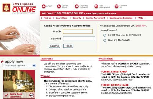 How to register Dragonpay to BPI Express Online