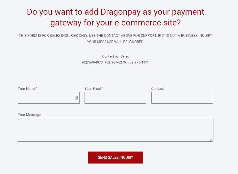 Connect Dragonpay on your Easybuilder shop - Step 1