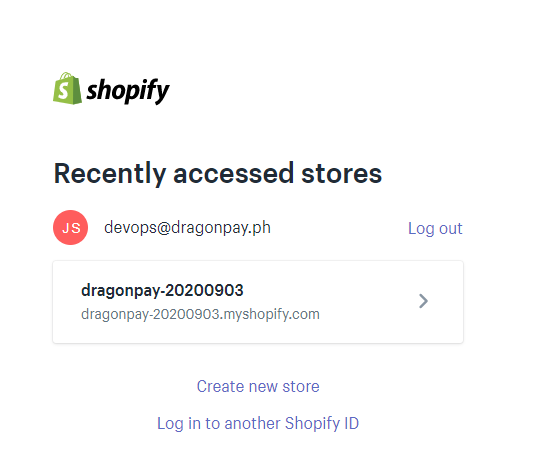Install Dragonpay Gcash on your Shopify account - Step 1