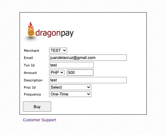 Pay via Paymaya - Step 1