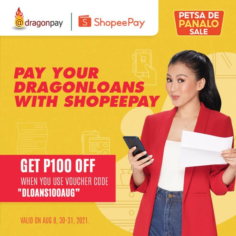Pay your Dragonloans with Shopeepay promo