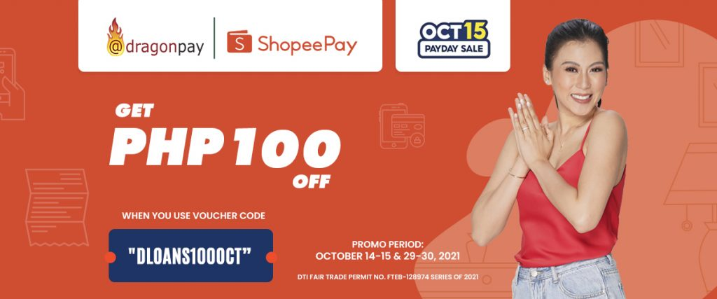 Shopeepay October promo banner