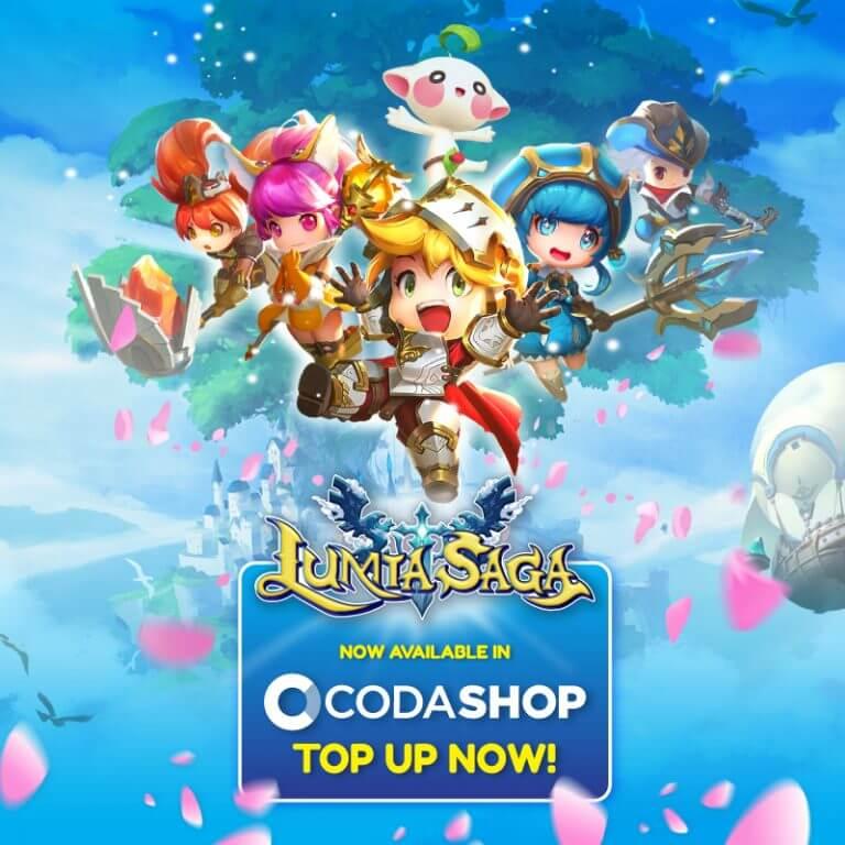 LumiaSaga - Codashop banner