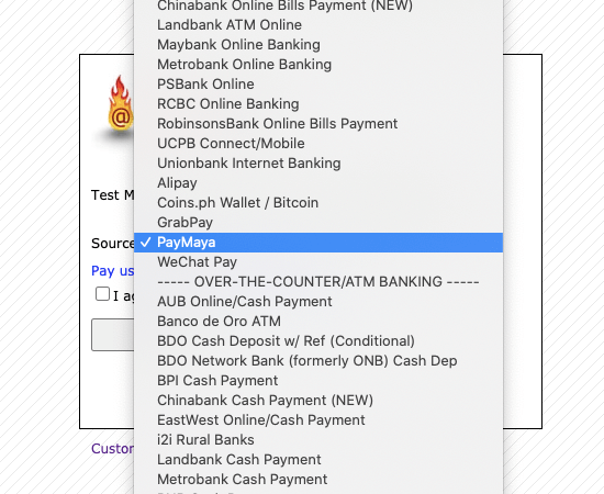How to pay using PayMaya - Step 2