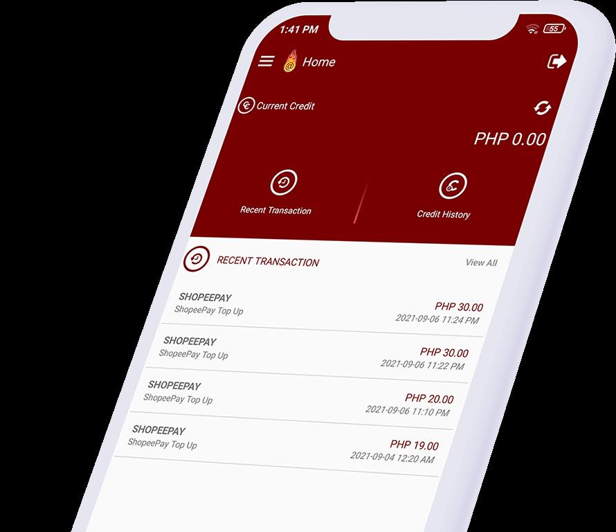 Dragonpay credits app